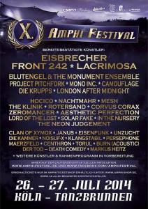 X. AMPHI FESTIVAL 2014 – OPEN AIR