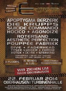 E-tropolis Festival 2014 – Besucherrekord in Oberhausen!