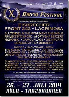 Amphi Festival 2014 – Neue Bands