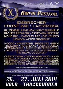 Amphi Festival 2014 DJ Line-Up – Eisbrecher in Finnland & Russland