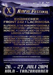 X. Amphi Festival 2014 – Vorverkaufskontingent erschöpft