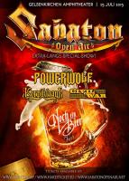 SABATON – kündigen 'Sabaton Open Air Germany/Noch ein Bier Fest' an!