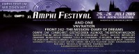 Amphi Festival 2015 – Finale Band, Interaktiver Song-Workshop & Running Order