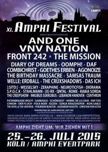 XI. Amphi Festival Open Air – News