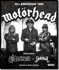 Motörhead auf Tour in Deutschland