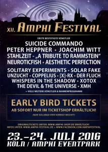 Amphi Festival 2016 – Erste Bands & Vvk.-Start