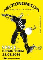 Konzert NECRONOMICON SPACE im Ludwig Forum