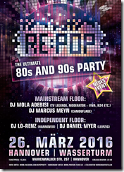 DIE ULTIMATIVE 80er und 90 PARTY